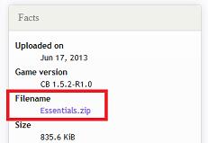 Essentials download link