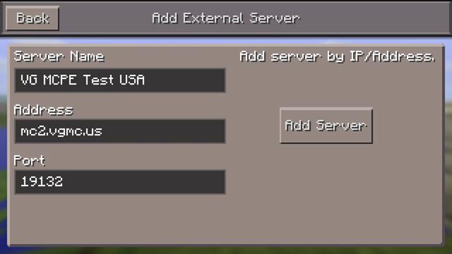 MCPC Server Add